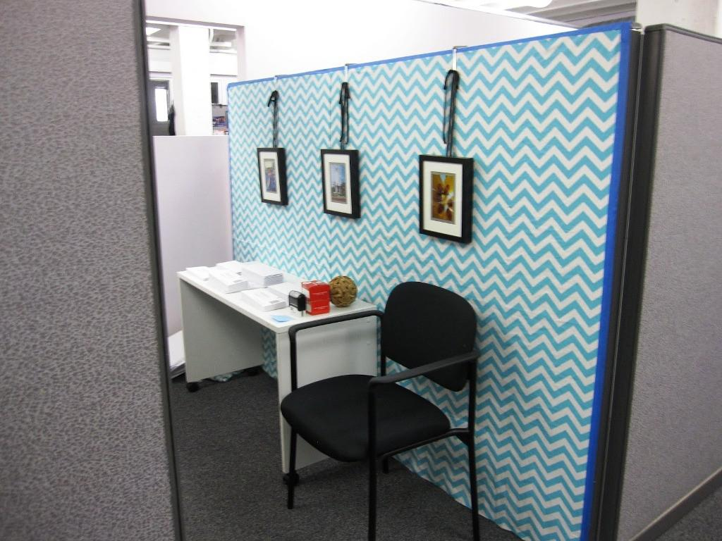 Image of: Colorful Cubicle Wall Decor Ideas