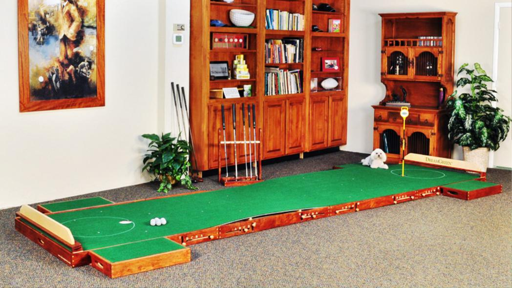 Image of: Custom Indoor Putting Greens