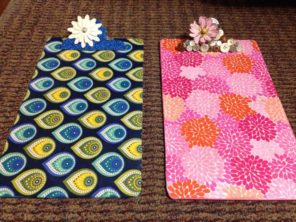 Decorate Clipboards Ideas Picture