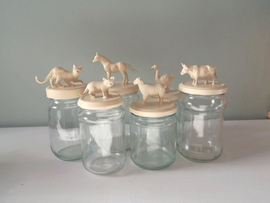 Image of: Decorating Glass Jars