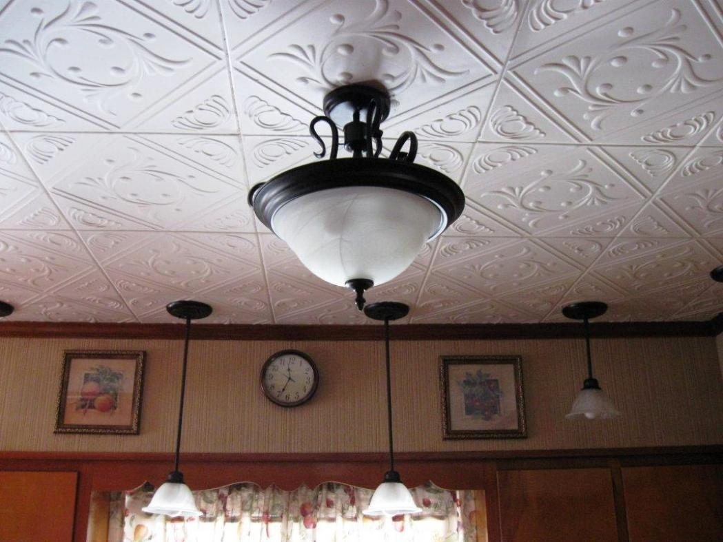 Image of: Decorative Ceiling Tiles Cheap