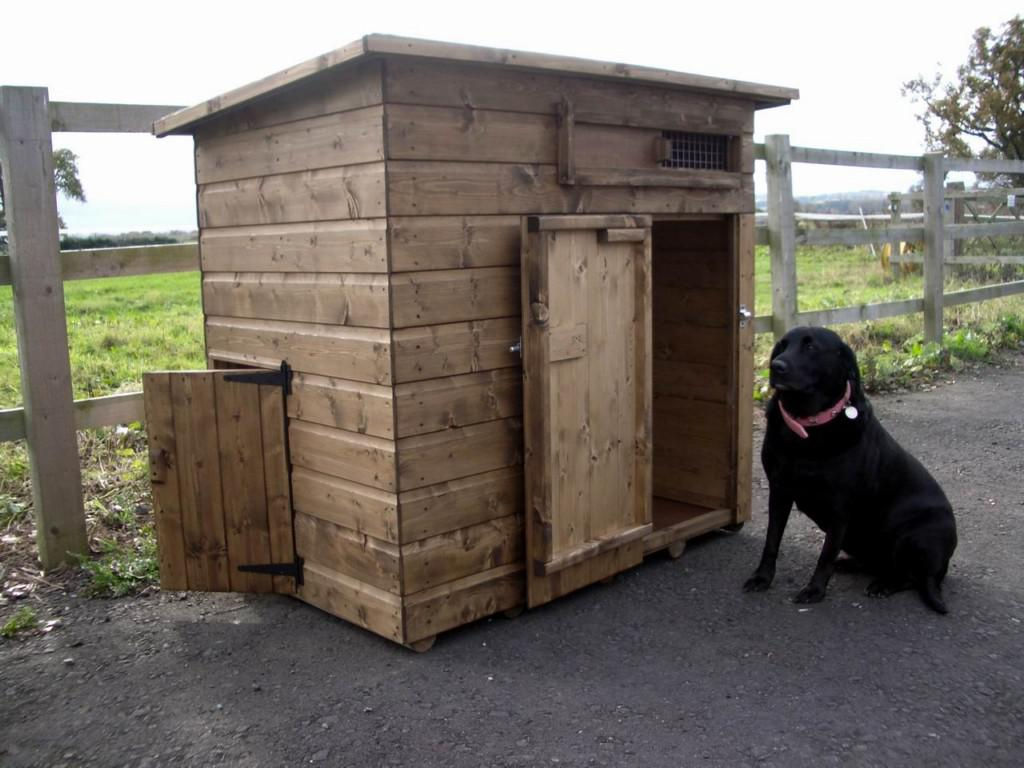 Image of: Decorative Dog Crates And Kennels