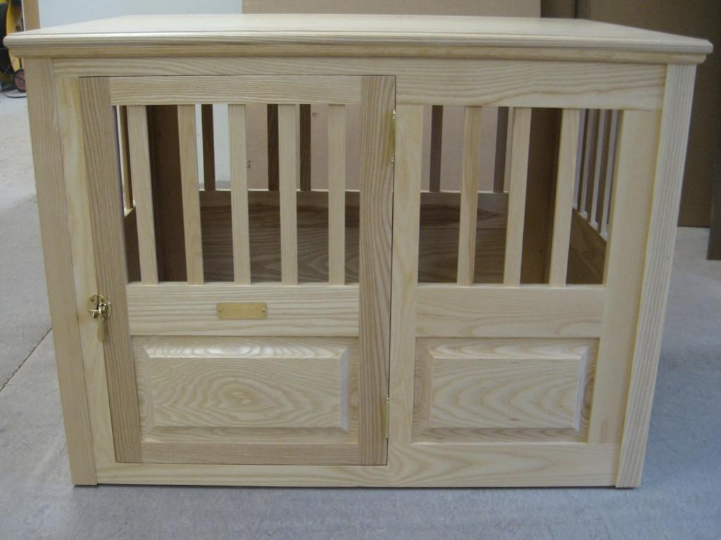 Image of: Decorative Dog Crates Natural Furniture
