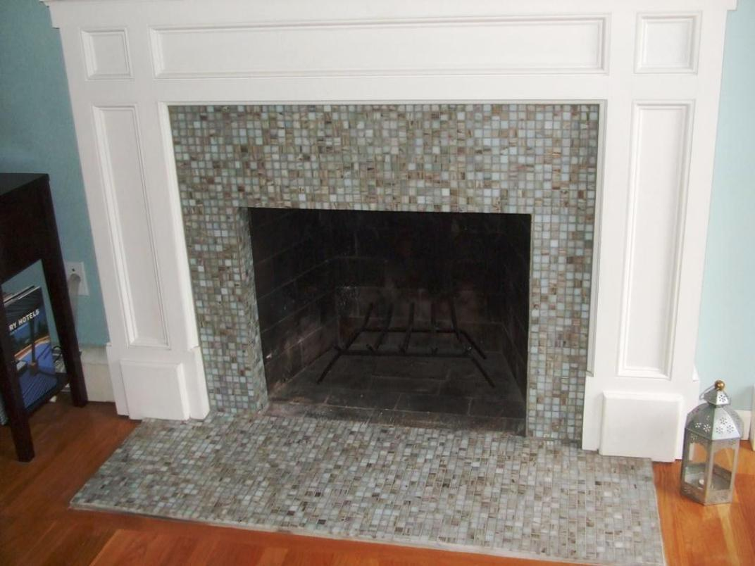 Image of: Decorative Fireplace Screens Ideas