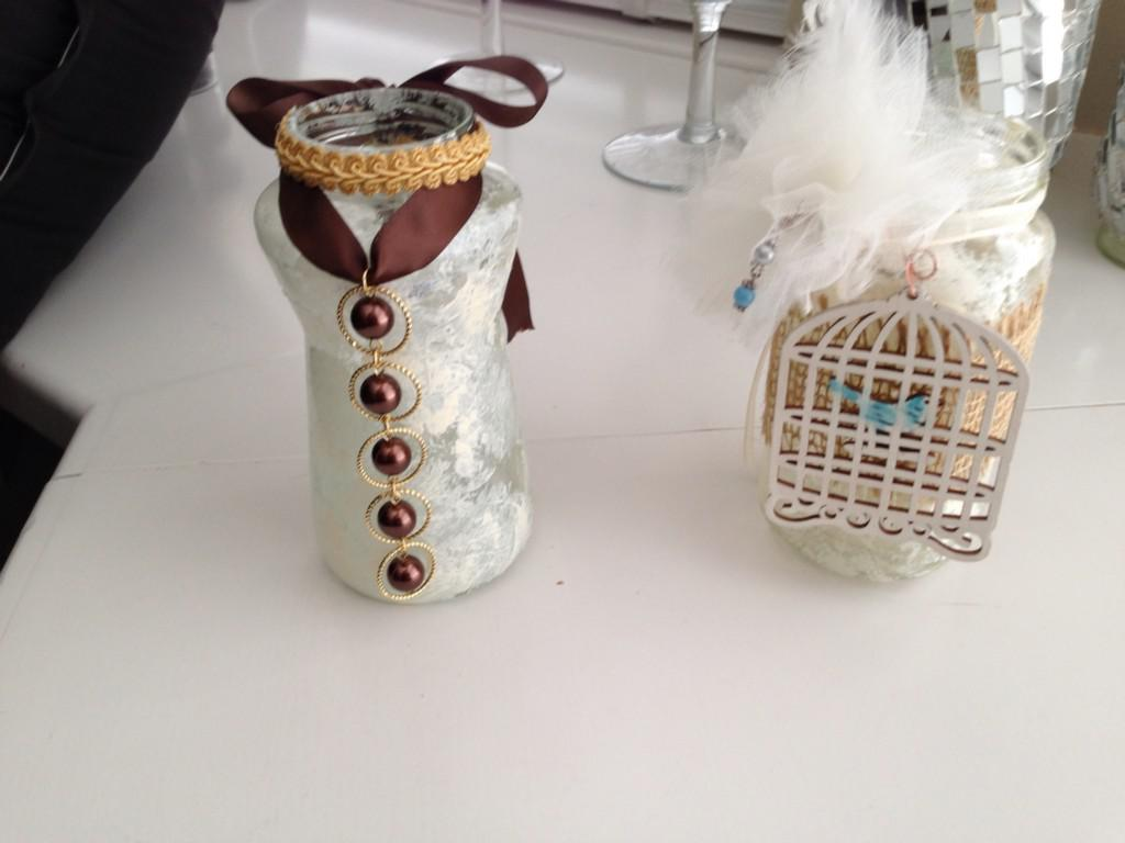 Image of: Decorative Jars Homemade
