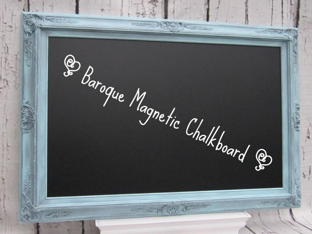 Image of: Decorative Magnetic Chalkboard For Home