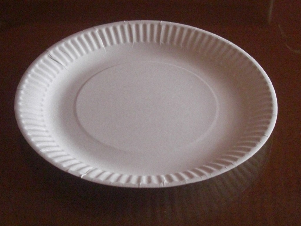 Image of: Fancy Paper Plates