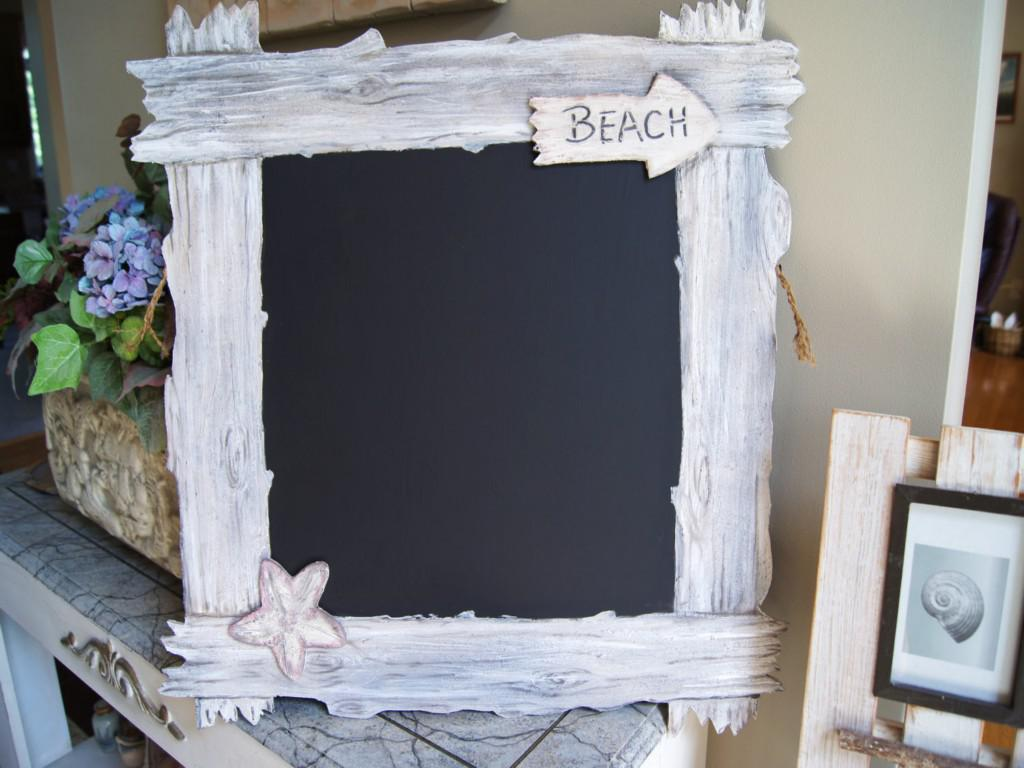 Image of: Framed Decorative Chalkboards
