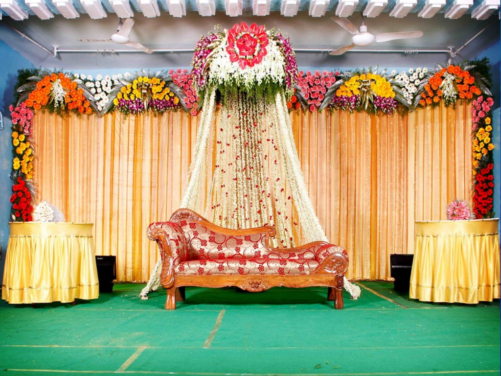 Image of: Indian Wedding Stage Decor Ideas