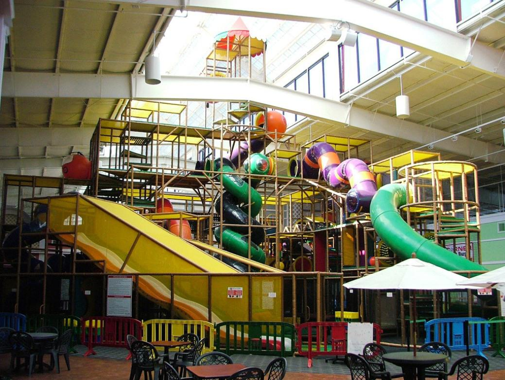 Indoor Playground in Shopping Mall