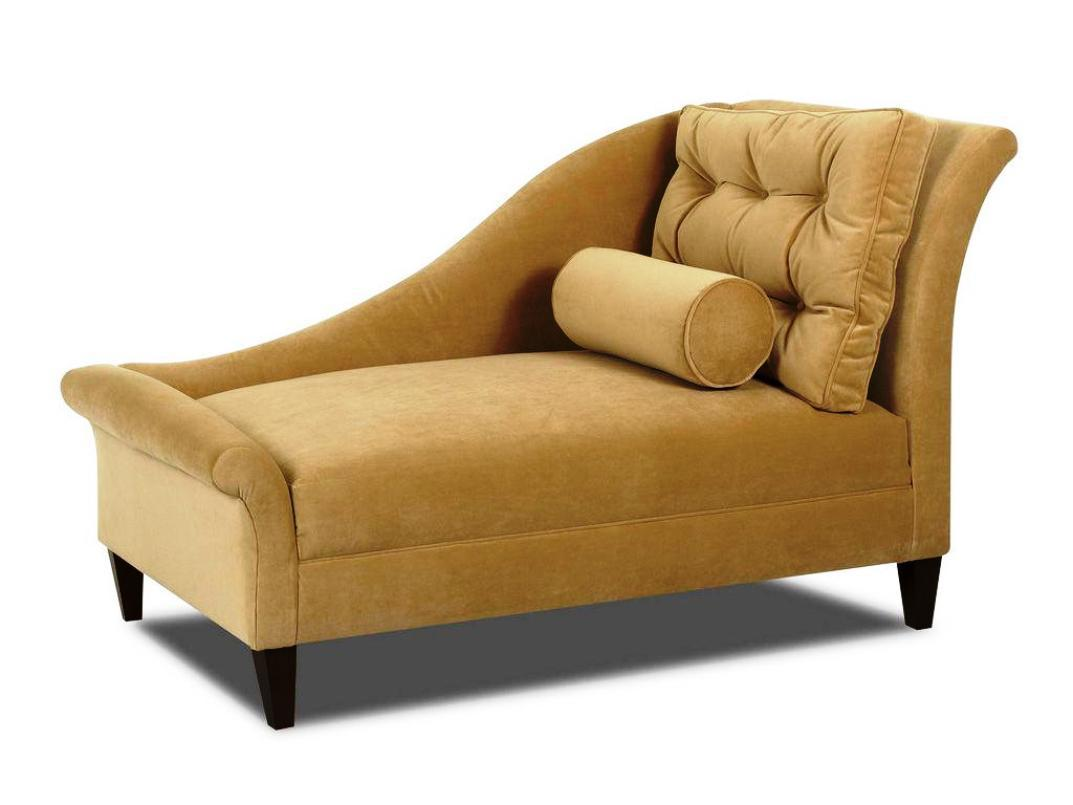 Image of: Indoor Upholstered Chaise Lounge