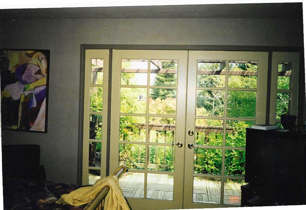 Image of: Interior French Doors With Side Panels