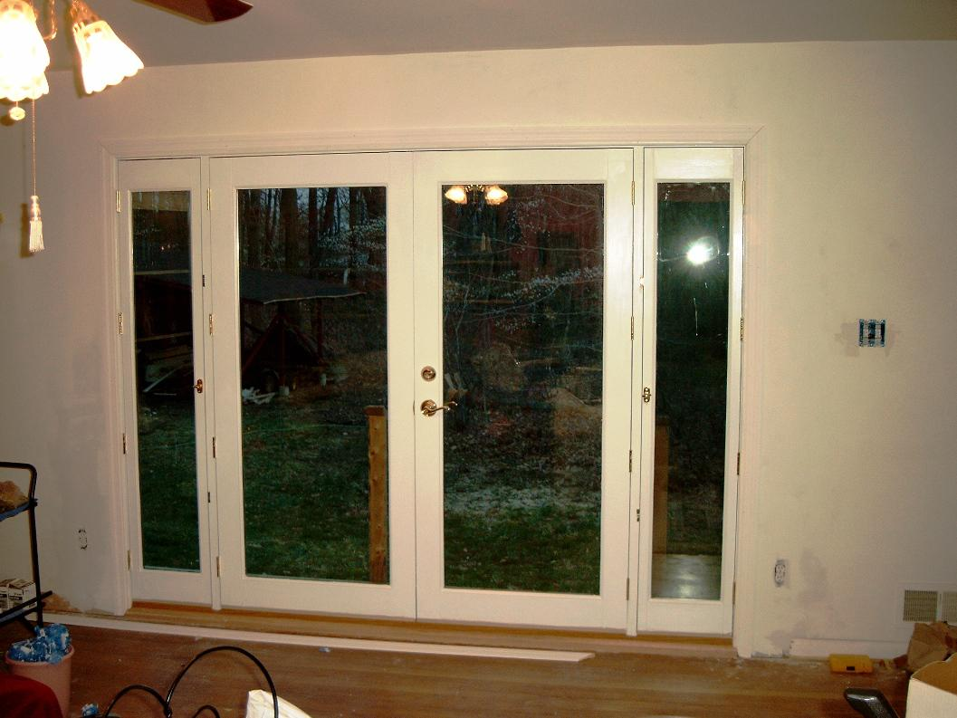 Image of: Interior French Doors with Sidelights
