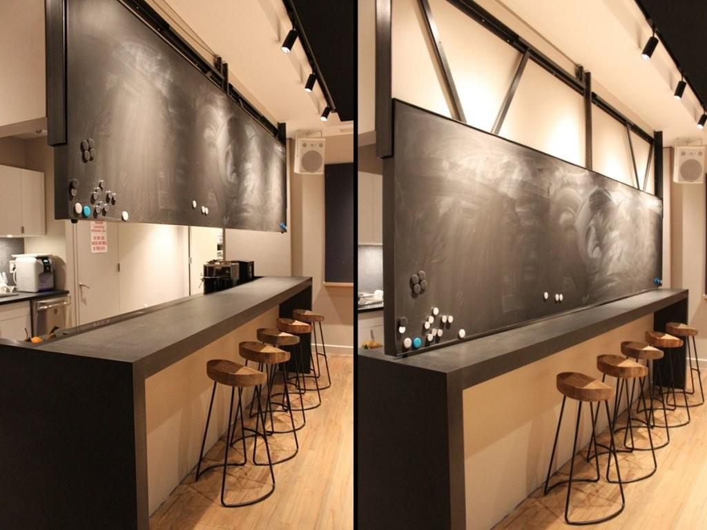 Image of: Kitchen Magnetic Chalkboard Ideas