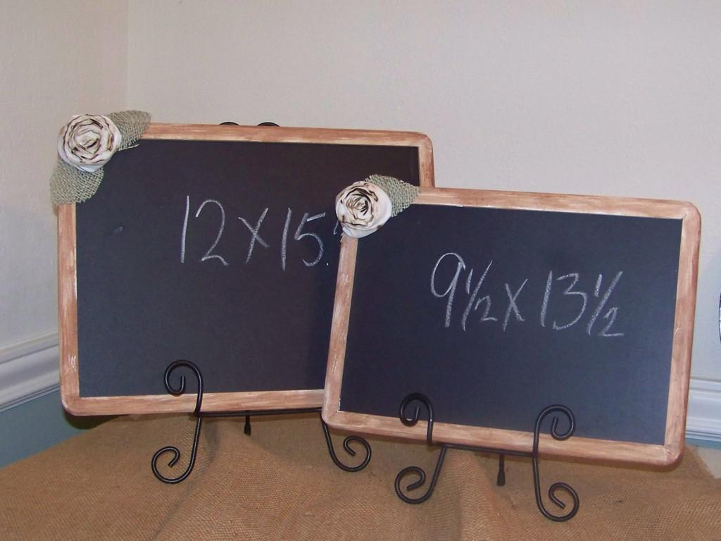Image of: Large Decorative Chalkboards Designs Ideas