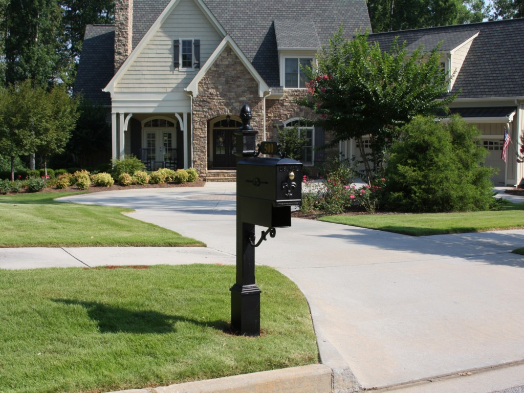 Image of: Locking Mailboxes Residential