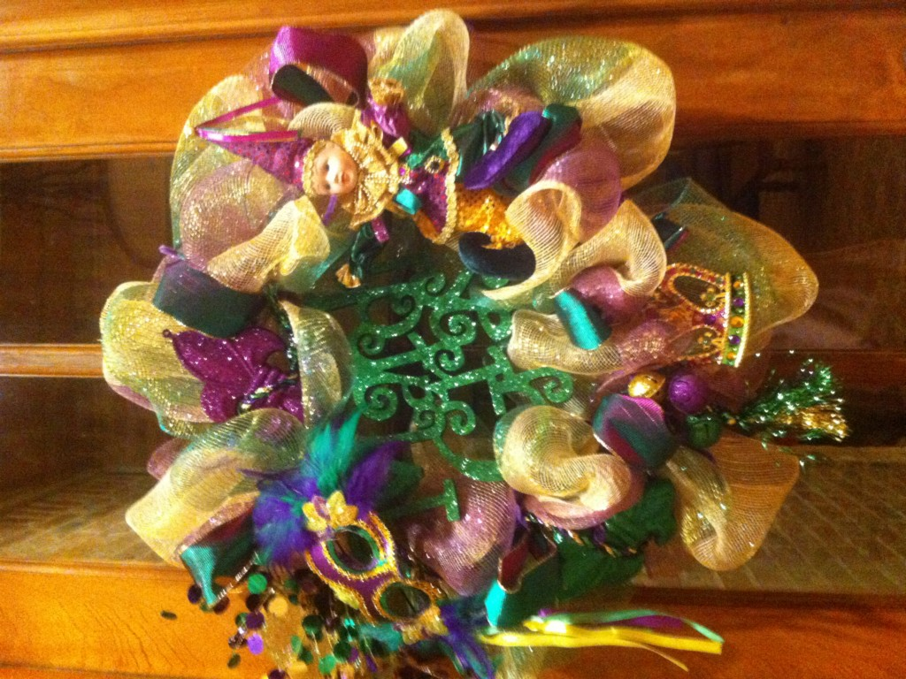 Image of: Mardi Gras Decoration Ideas