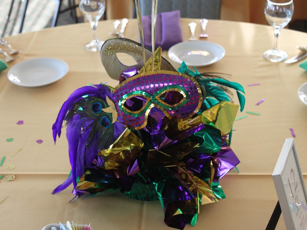 Image of: Mardi Gras Decoration