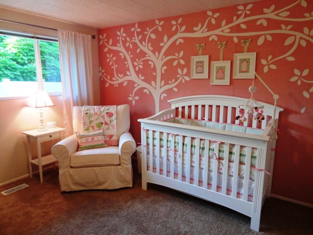 Image of: Nursery Ideas Girls