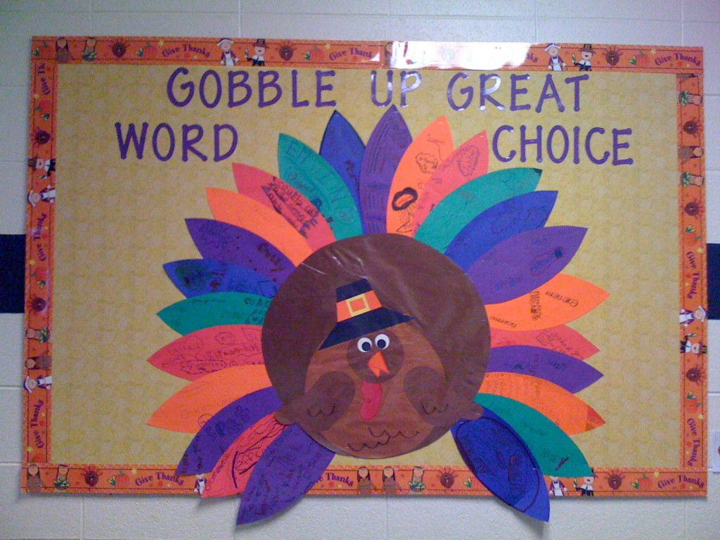 Image of: DIY Thanksgiving Bulletin Board Ideas For Preschool