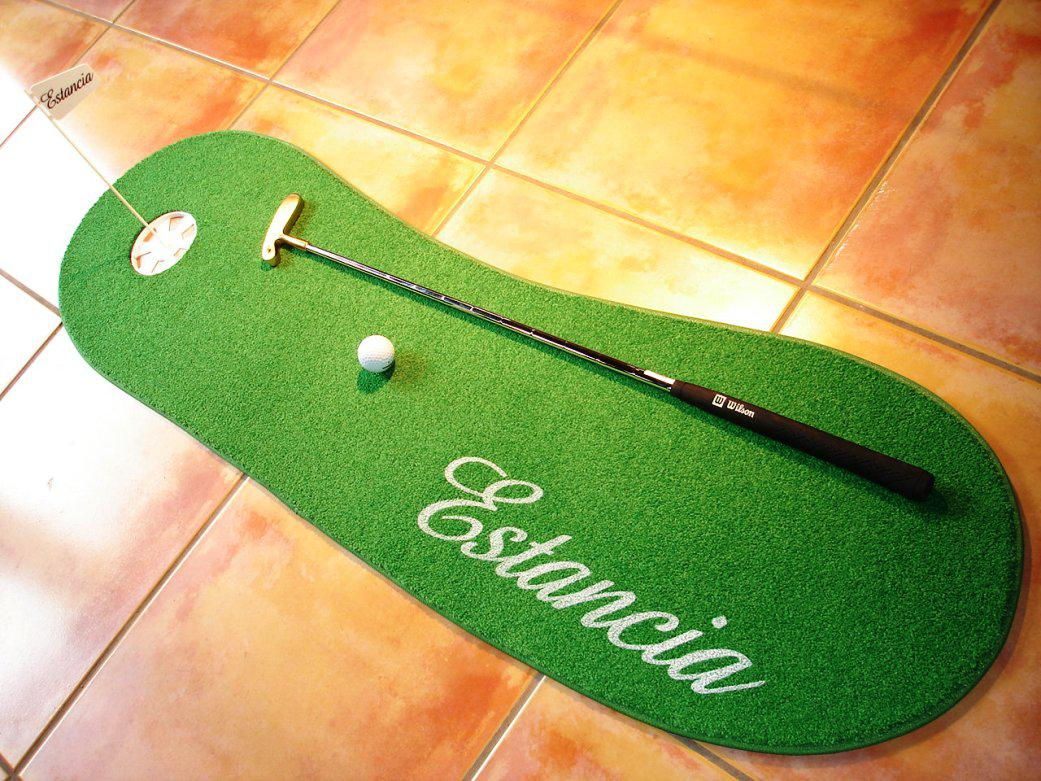Image of: Unique Indoor Putting Green
