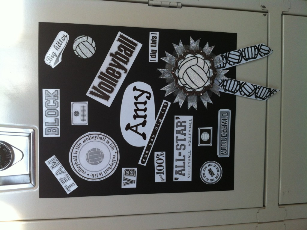 Volleyball Locker Decoration Ideas