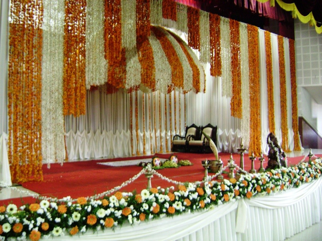 Image of: Wedding Stage Decoration Photos