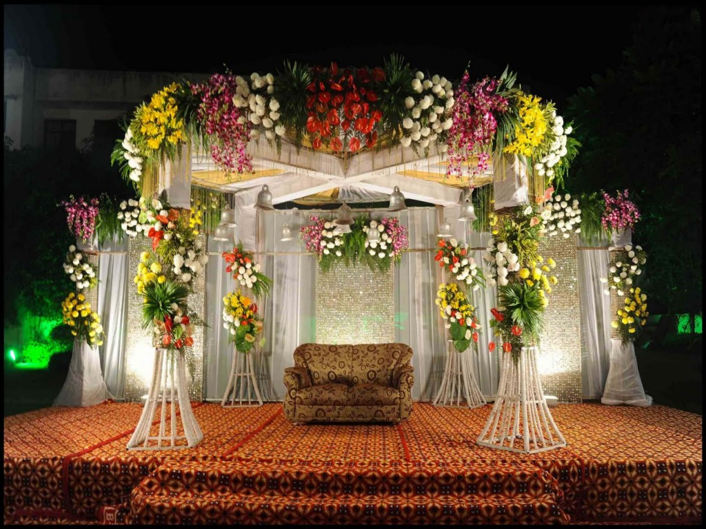 Image of: Wedding Stage Design