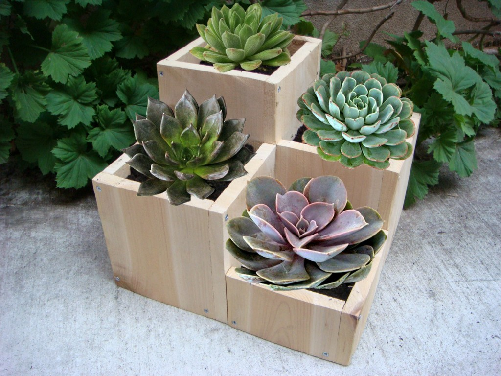 Wood Flower Pot Plans
