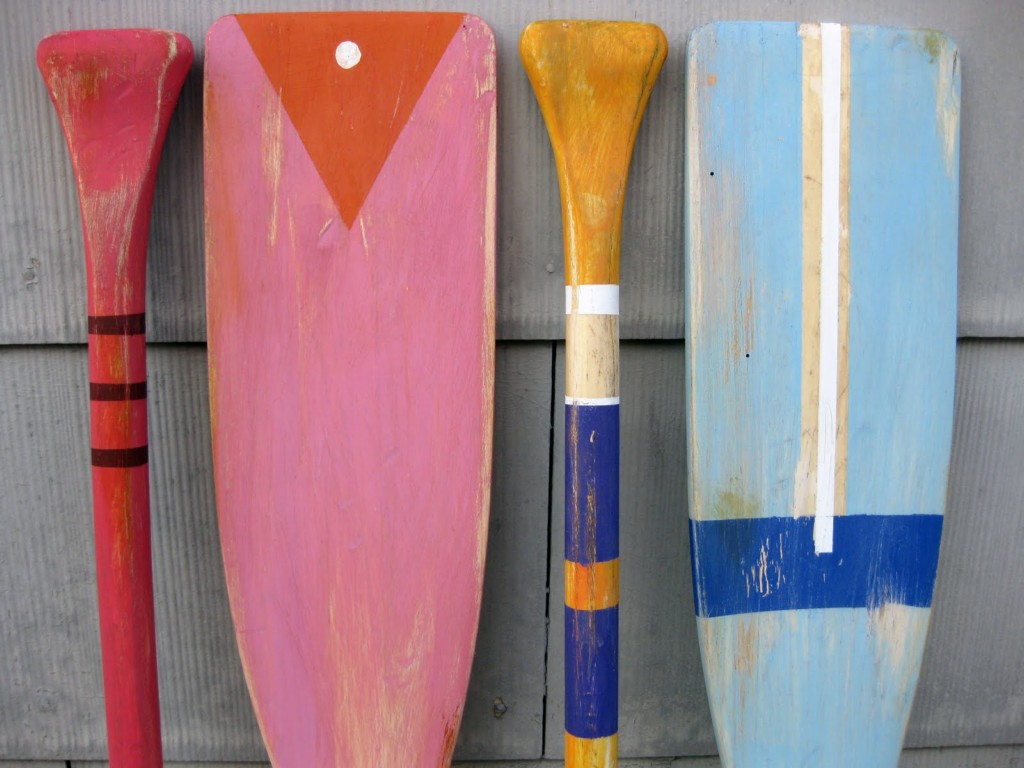 Image of: Wood Oars For Sale