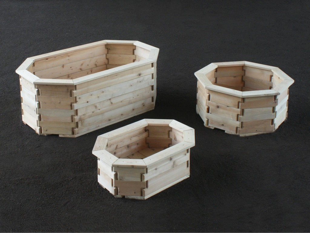 Wooden Flower Pot Designs