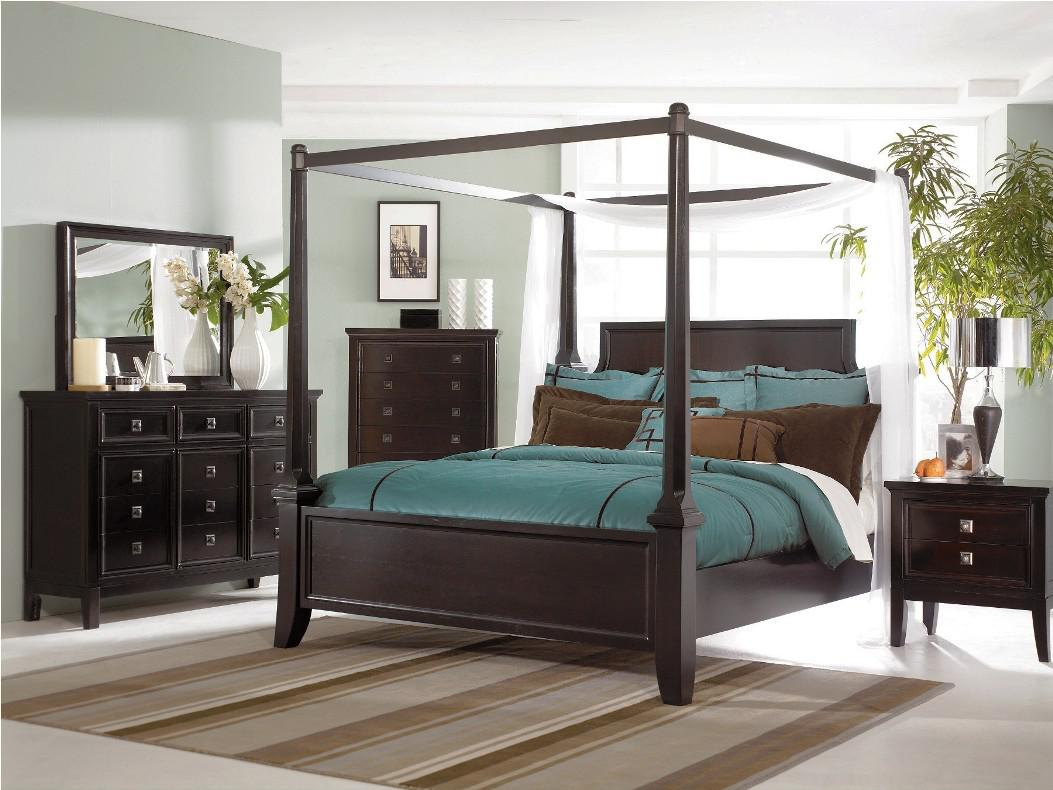 Image of: Amazing Iron Canopy Bed