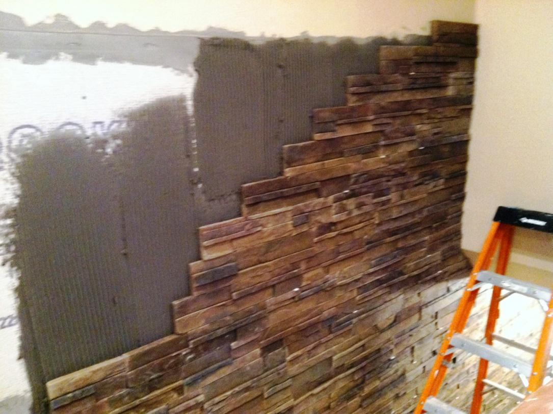 Image of: Awesome Interior Stone Veneer