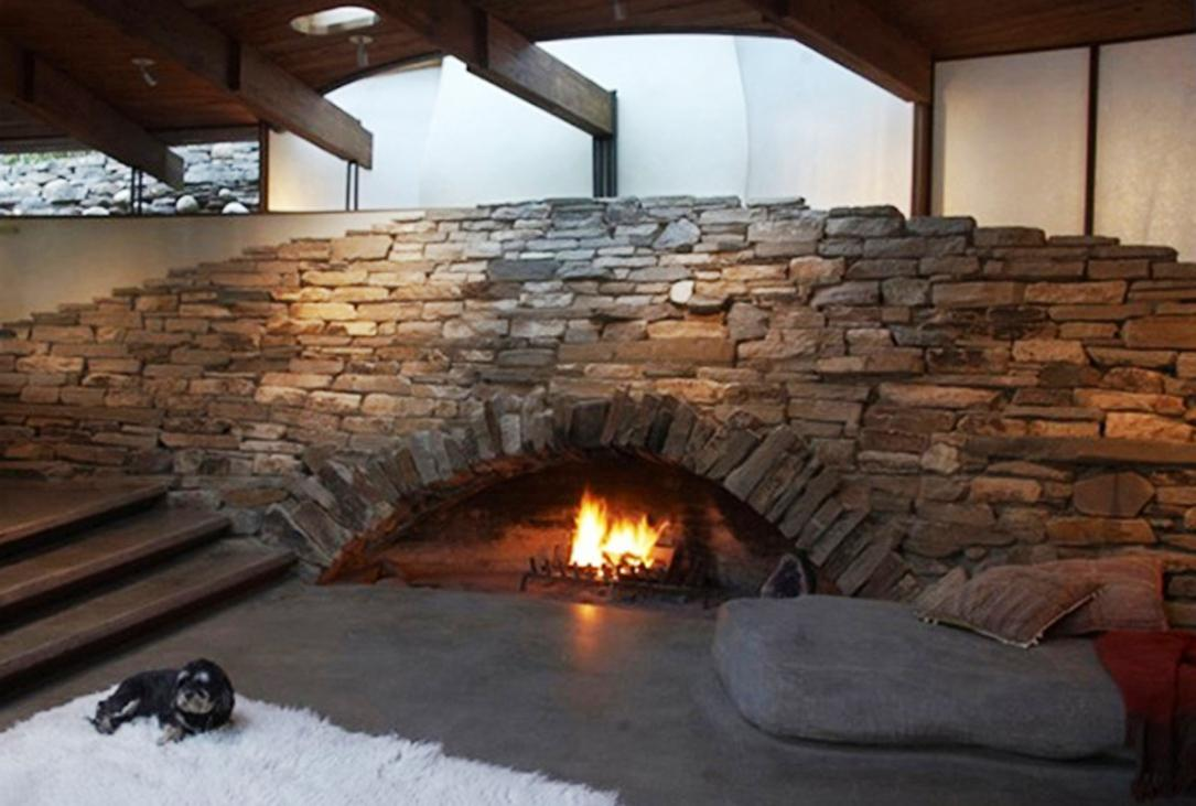 Image of: Fireplace Stone Veneer
