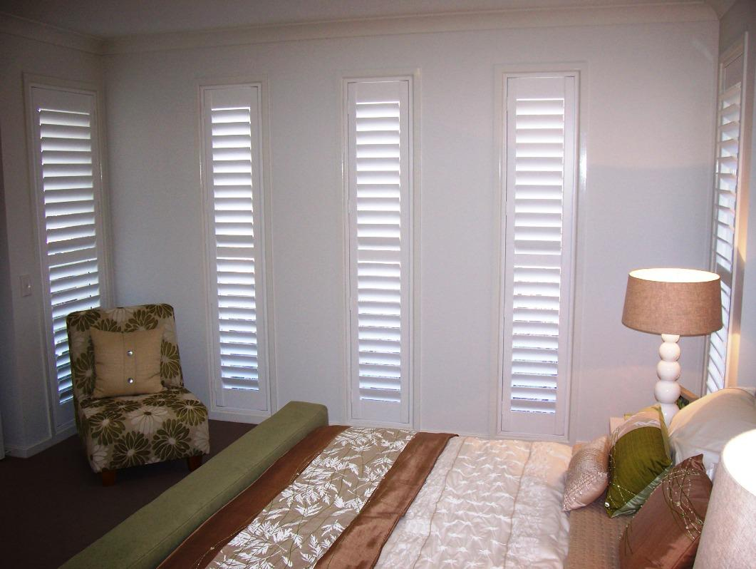 Image of: Interior Shutters for Sliding Doors