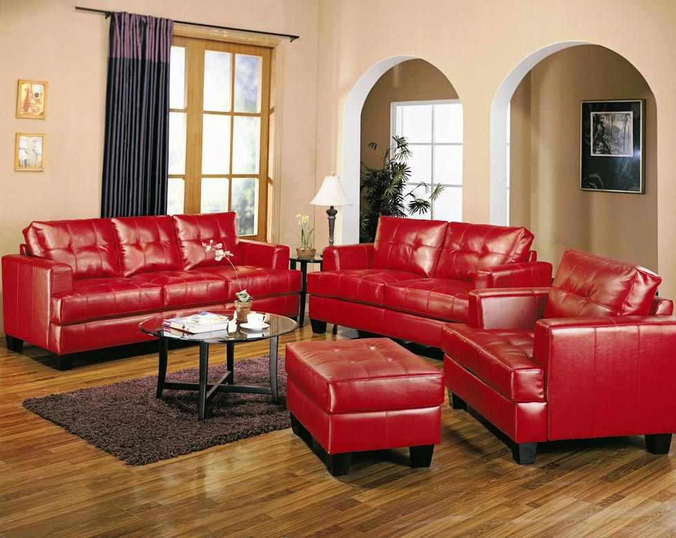 Image of: Italian Leather Living Room Furniture