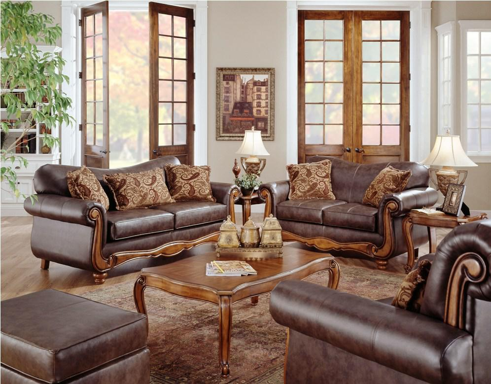 Image of: Leather Living Room Sets Contemporary