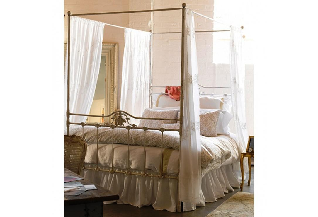 White Canopy Bed