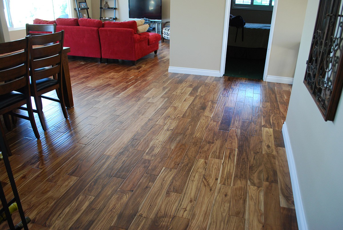 Image of: Acacia Wood Floor Design