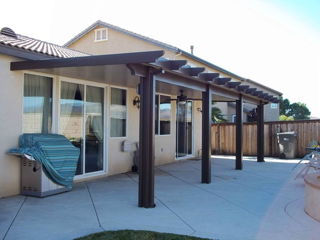 Image of: Aluminum Patio Cover