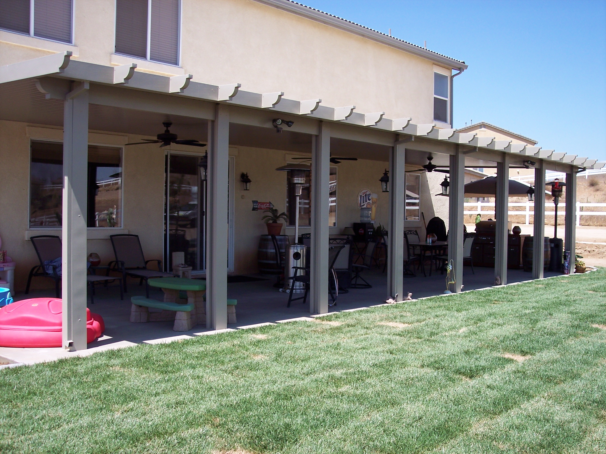 Image of: Aluminum Patio Covers Cost