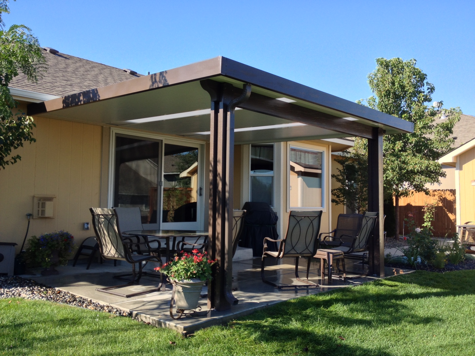 Image of: Aluminum Patio Covers Picture