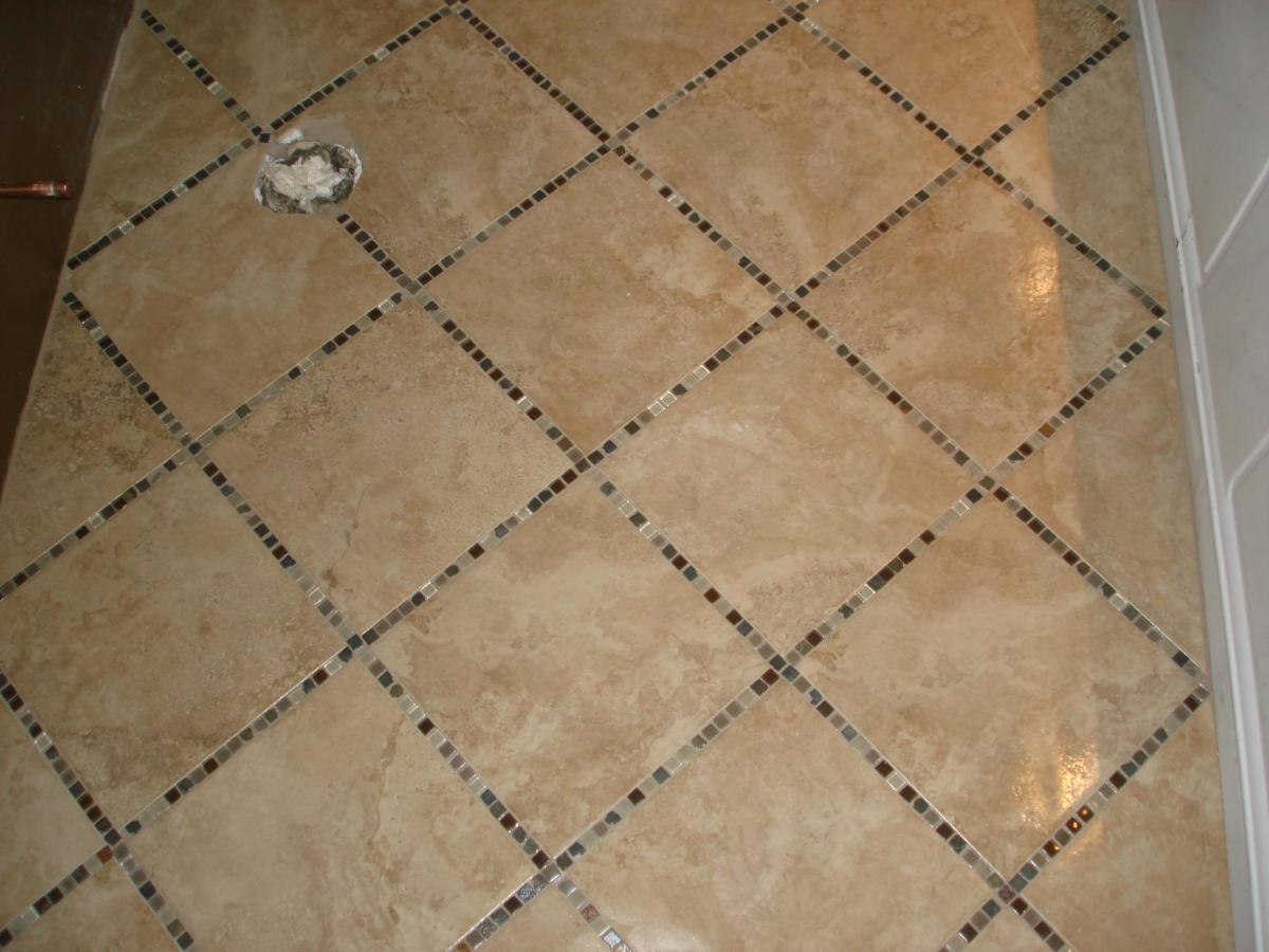 Image of: Bathroom Tile Design