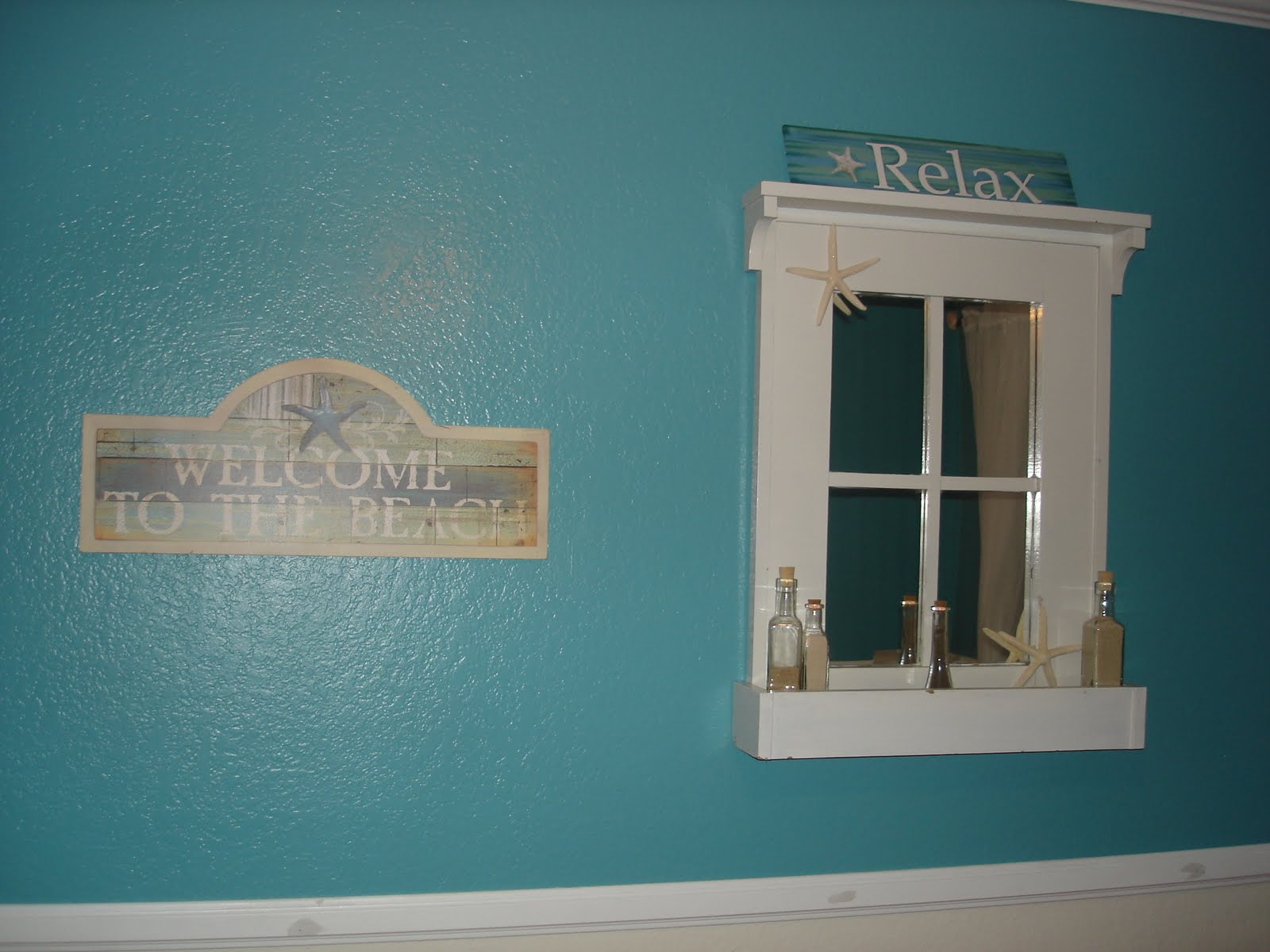 Image of: Beach Themed Wall Decor