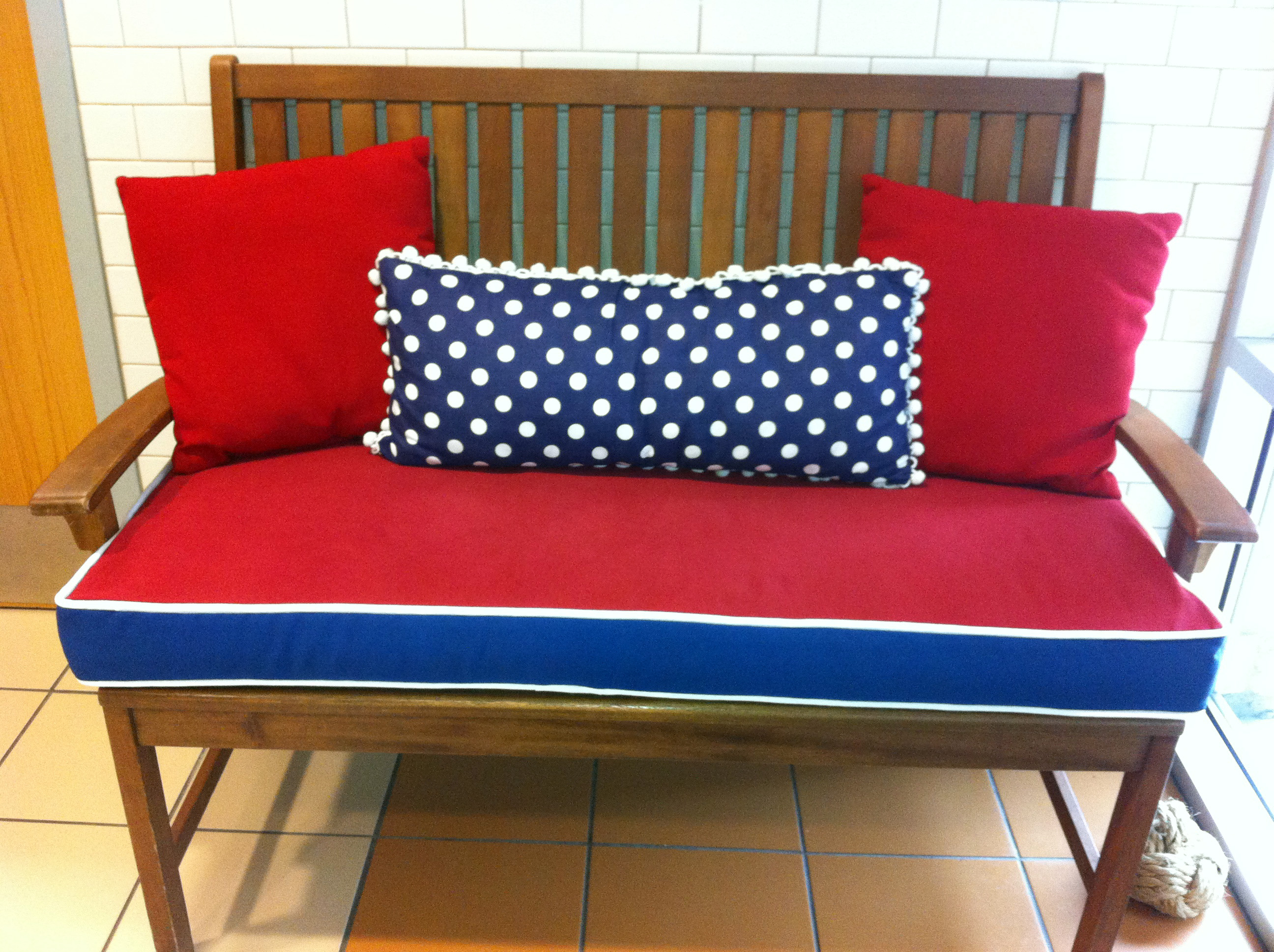 Image of: Bench Seat Cushions Indoor