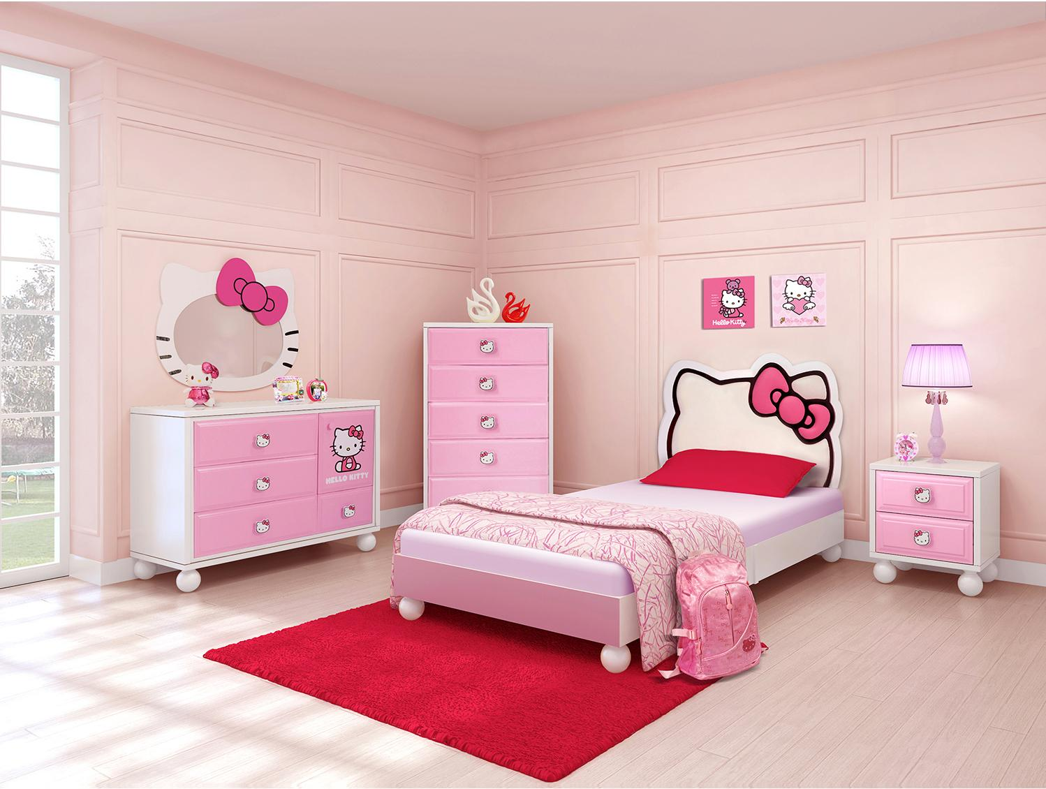 Image of: Best Hello Kitty Bedroom Furniture