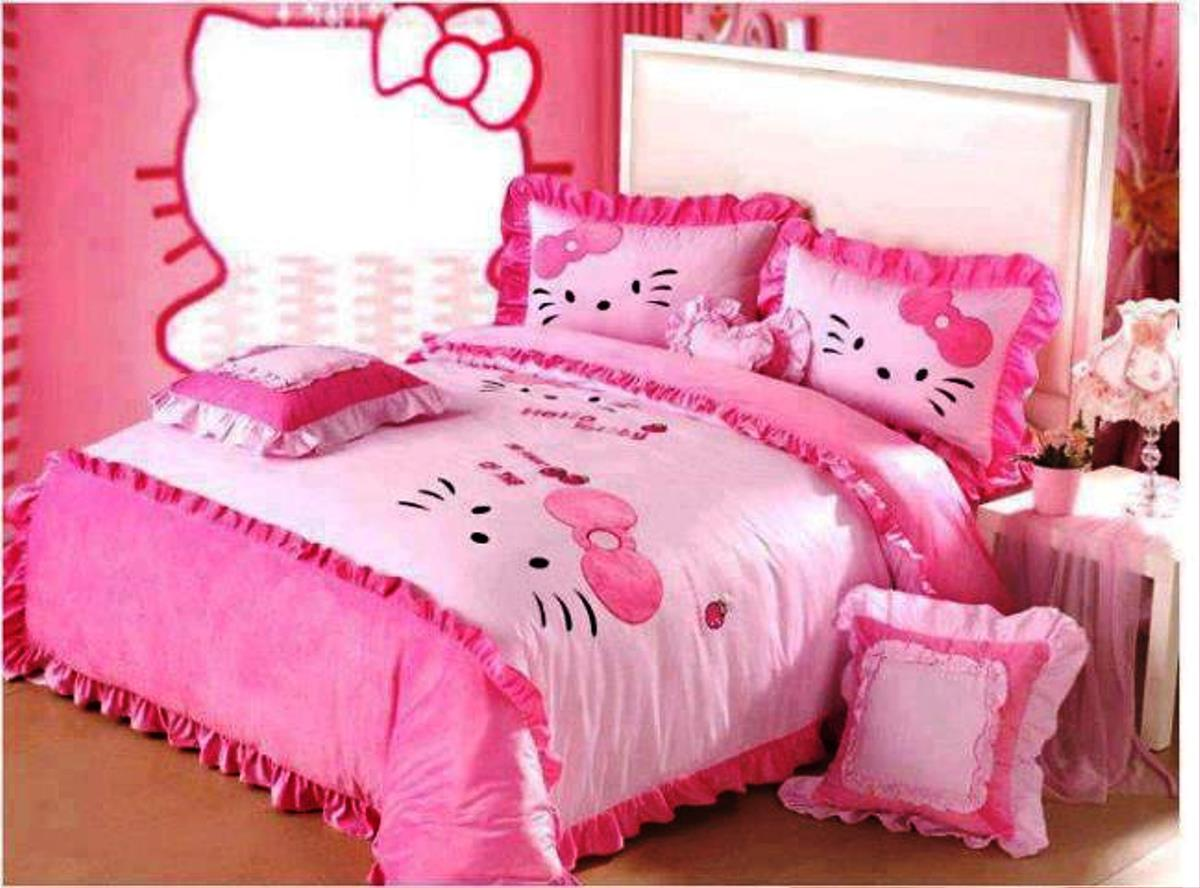 Image of: Best Hello Kitty Headboard