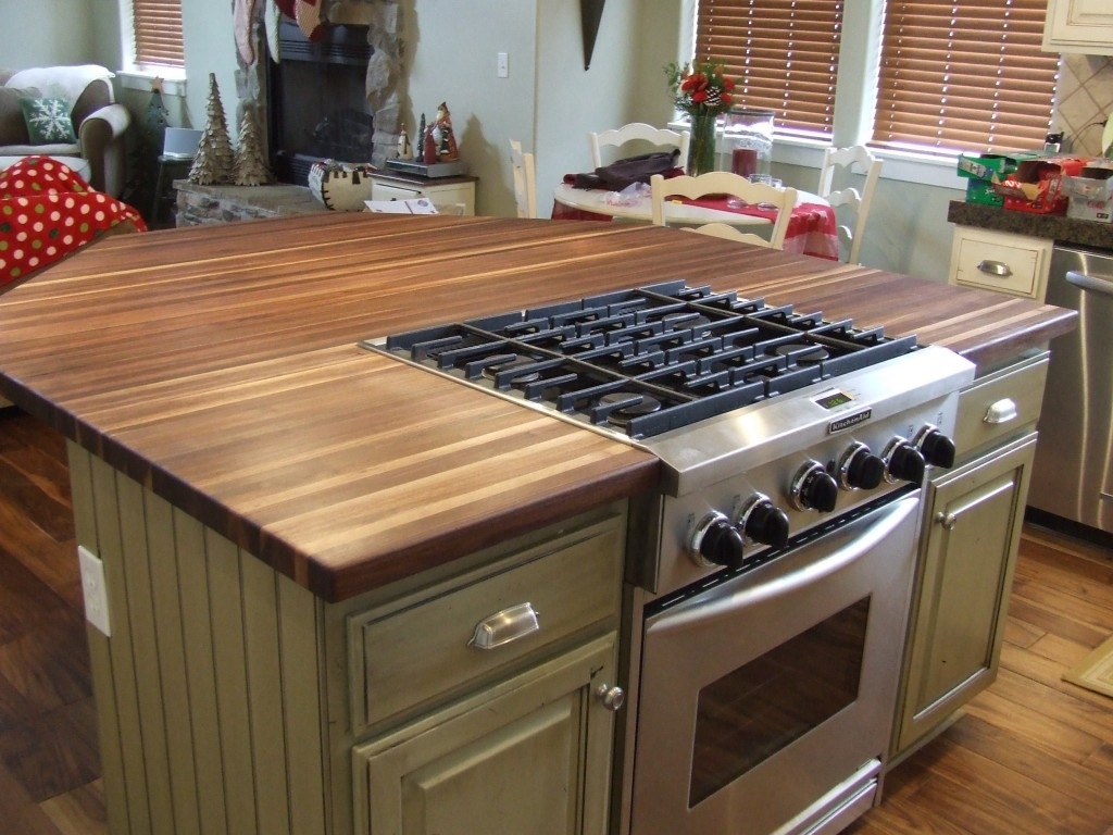 Image of: Butcher Block Kitchen Islands