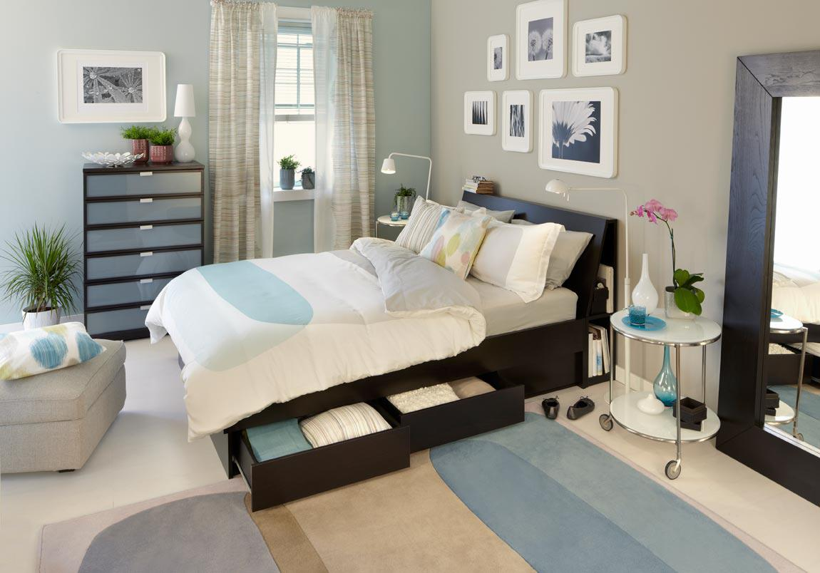 Image of: Calming Bedroom Colours