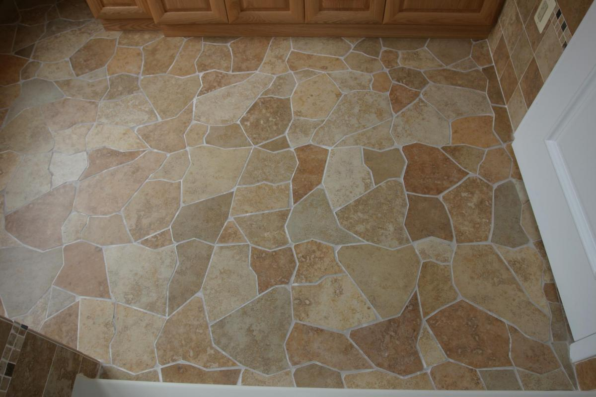 Image of: Ceramic Tile Floor Patterns